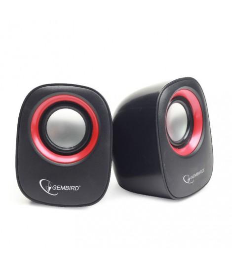 Głośniki przewodowe Gembird SPK-107A (system 2.0)