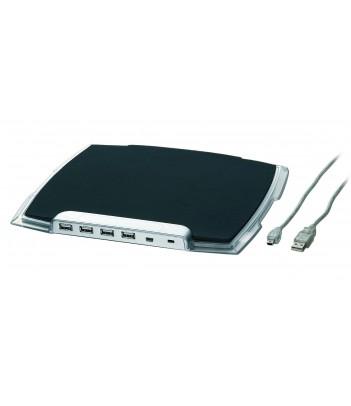 Hub USB 2.0 Gembird UHB-MP-224 (podkładka pod mysz)