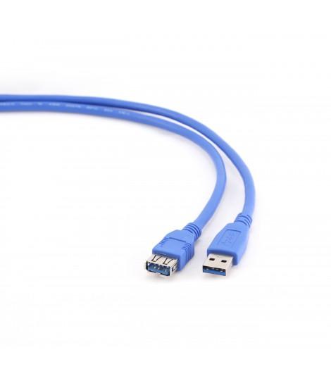 Kabel przedłużacz USB 3.0 Gembird AM-AF (1,8 m)