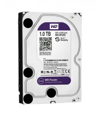 Dysk HDD WD Purple 1TB 64MB