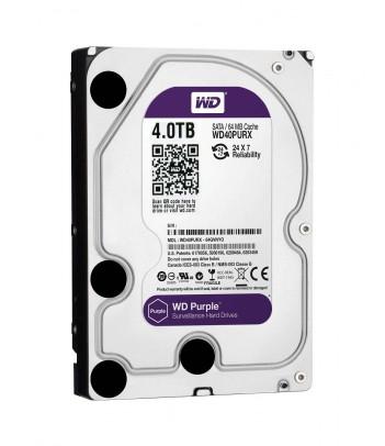 Dysk HDD WD Purple 4TB 64MB