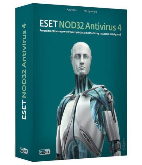 Eset NOD32 Antivirus przedłużenie licencji o 1 rok (1 użytkownik)