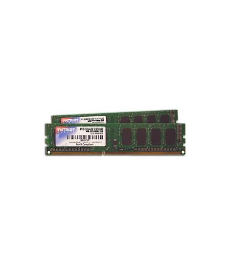 Pamięć RAM Patriot Signature 4GB (2x2GB) DDR3 1333MHz