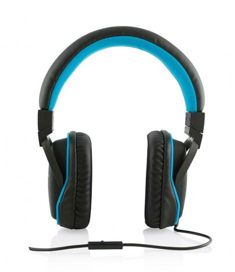 Słuchawki MODECOM MC-880 BIG ONE (niebieskie)