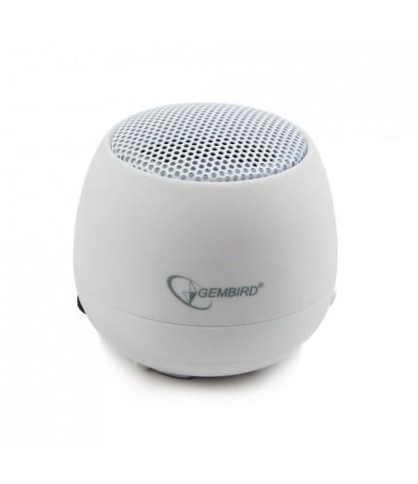 Głośnik przenośny Gembird SPK-103-W (biały)