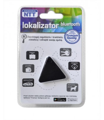 Lokalizator bluetooth NTT ACBT001BK (typ trójkąt) czarny