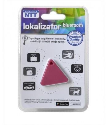 Lokalizator bluetooth NTT ACBT001P (typ trójkąt) różowy