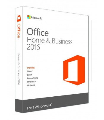 Microsoft Office 2016 Home & Business 32-bit/64-bit (bez nośnika + licencja)