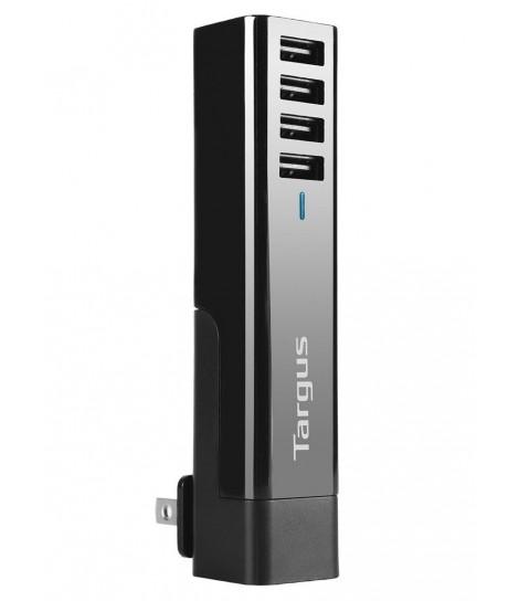Ładowarka sieciowa USB Targus APA750EU z czerema wyjściami USB
