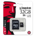 Karta pamięci microSDHC Kingston Class 10 32GB + adapter SD