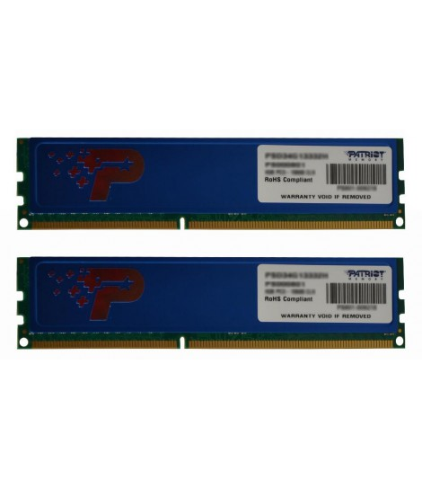 Pamięć RAM Patriot Signature 8GB (2x4GB) DDR3 1600MHz
