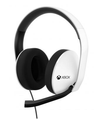 Zestaw słuchawkowy stereo z mikrofonem do Xbox One (biały)