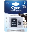 Karta pamięci microSDHC Team Group Class 10 8GB + AdapterSD
