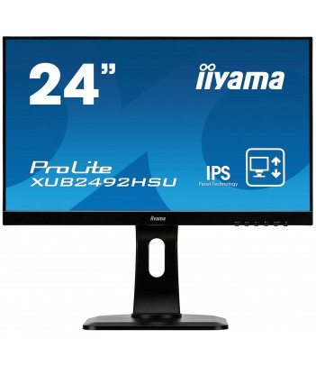 """iiyama 23.8"""" IPS XUB2492HSU-B1 (GWARANCJA ZERO MARTWYCH PIXELI)"""