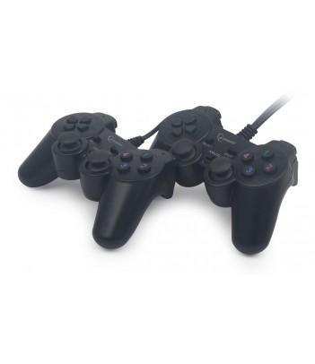 Zestaw dwóch gamepadów Gembird JPD-UDV2-01 (dual vibration)