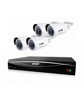 Zestaw do monitoringu ComboKIT KGuard HD881-4WA813F (rejestrator HD881 + 4x kamera WA813FPK)