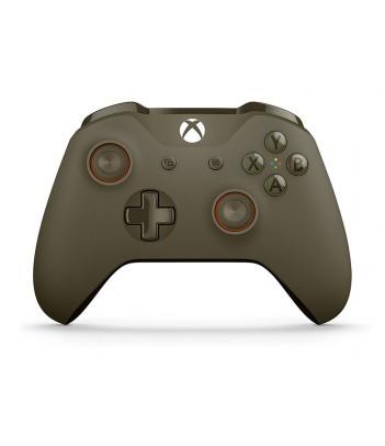 Kontroler bezprzewodowy do konsoli Xbox One (zielono-pomarańczowy)