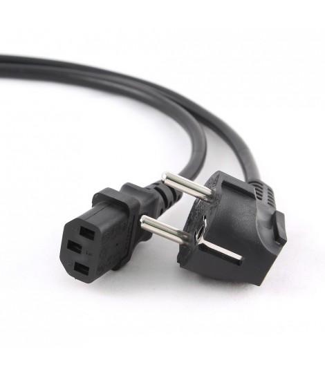 Kabel zasilający komputerowy IEC 320 C13 z certyfikatem VDE Gembird PC-186-VDE (1,8 m)