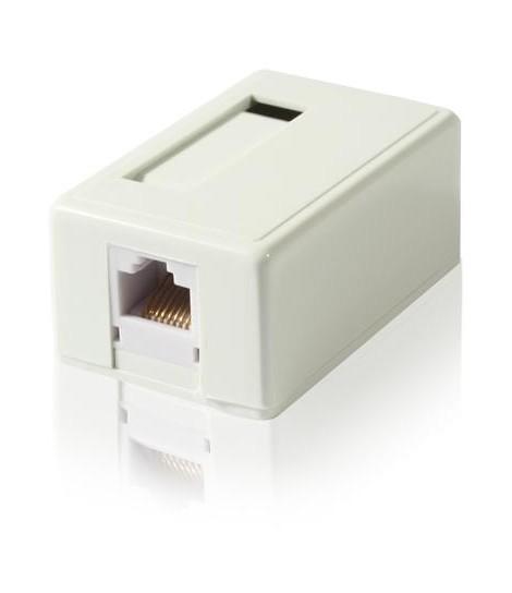 Gniazdo natynkowe FTP Gembird NCAC-FS-SMB1 1x RJ-45, kat.6