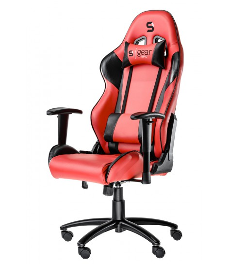 Fotel dla gracza SilentiumPC Gear SR300 (czerwony)