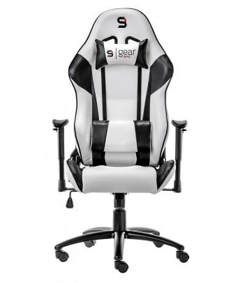 Fotel dla gracza SilentiumPC Gear SR300 (biały)