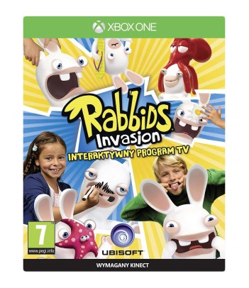 Gra Xbox One Rabbids Invasion