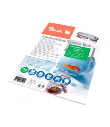 Zestaw folii do laminowania Peach PPC500-03 (100 szt.)