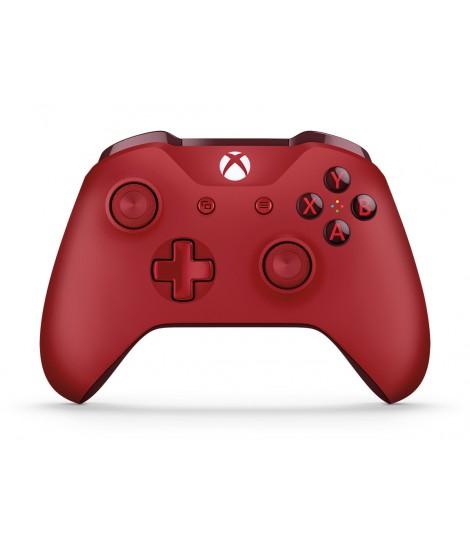 Kontroler bezprzewodowy Microsoft do konsoli Xbox One (czerwony)