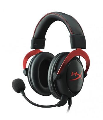 Słuchawki dla graczy HyperX Cloud II (czarno-czerwone)