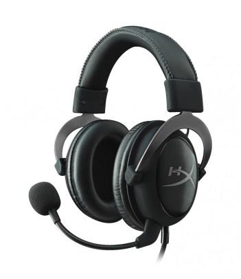 Słuchawki dla graczy HyperX Cloud II (stalowoszare)