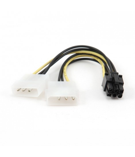 Kabel zasilający do kart graficznych Gembird CC-PSU-6 (0,15 m)