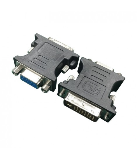 Adapter DVI-VGA (24M/15F) Gembird A-DVI-VGA-BK