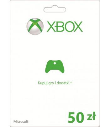 Karta Xbox 50 PLN