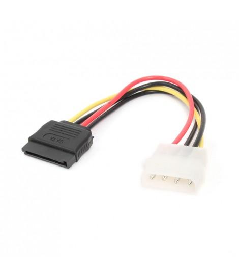 Kabel zasilający Molex-SATA Gembird CC-SATA-PS (0,15 m)