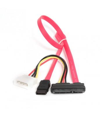 Kabel zasilający do dysków SATA III + kabel danych Combo 2 w 1 Gembird CC-SATA-C1