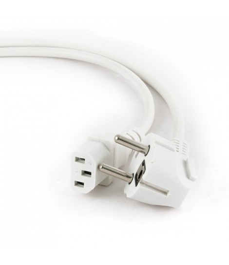 Kabel zasilający komputerowy IEC 320 C13 z certyfikatem VDE Gembird PC-186-VDE-GR (1,8 m)