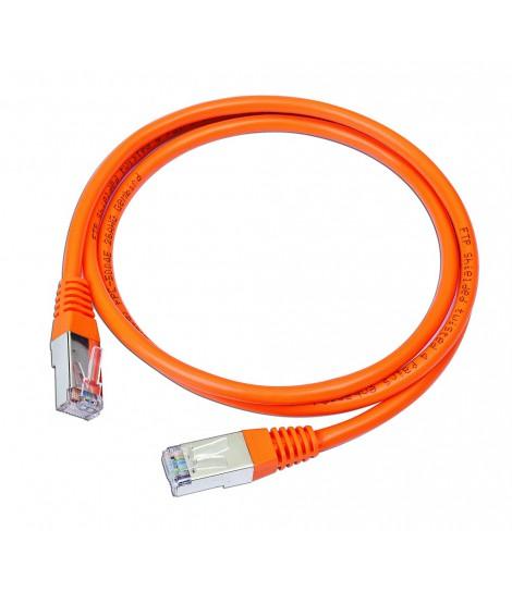 Kabel sieciowy FTP Gembird PP22-1M/O kat. 5e, Patch cord RJ-45 (1 m)