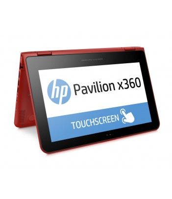 """Notebook HP Pavilion x360 11-k112nw 11.6"""" (P1S19EA) Red"""