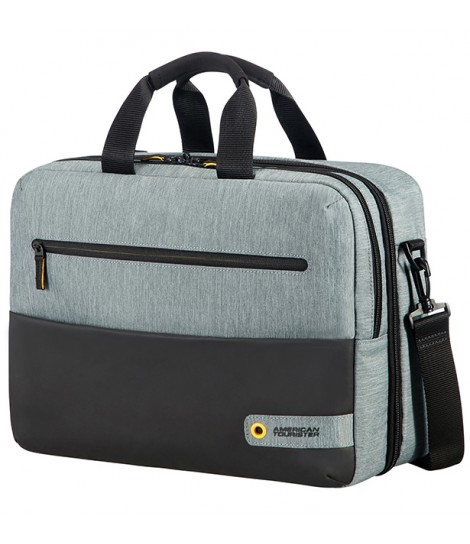 "Torba American Tourister City Drift do notebooka 15.6"" (czarno-szara)"