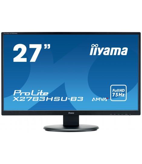 """iiyama 27"""" AMVA+ X2783HSU-B3 (GWARANCJA ZERO MARTWYCH PIXELI)"""