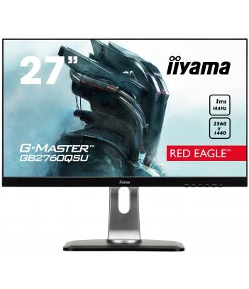 """iiyama 27"""" TN G-MASTER GB2760QSU-B1 (GWARANCJA ZERO MARTWYCH PIXELI)"""