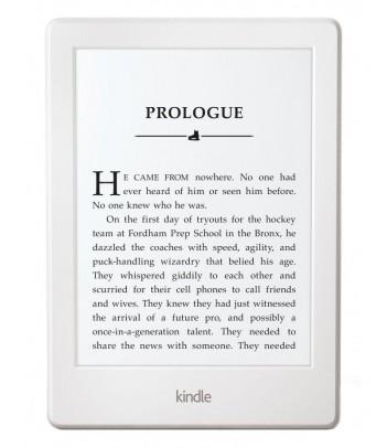 Czytnik e-book Amazon Kindle Touch 8, biały (z reklamami)