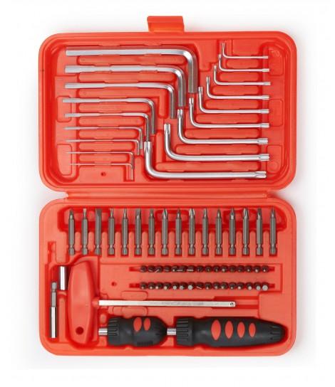 Zestaw narzędzi Gembird TK-PRO-02 do majsterkowania (71 elementów)