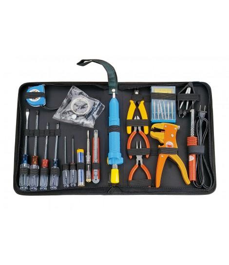 Zestaw podstawowych narzędzi domowych Gembird TK-HOME-01 (24 elementy)