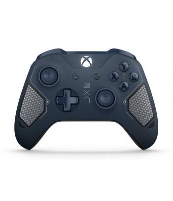 Kontroler bezprzewodowy Microsoft do konsoli Xbox One - wersja specjalna Patrol Tech (granatowy)
