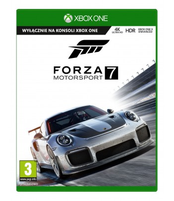 Gra Xbox One Forza Motorsport 7 Standard Edition