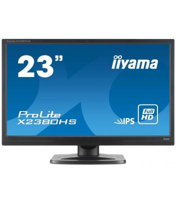 """iiyama 23"""" IPS X2380HS-B1 (GWARANCJA ZERO MARTWYCH PIXELI)"""