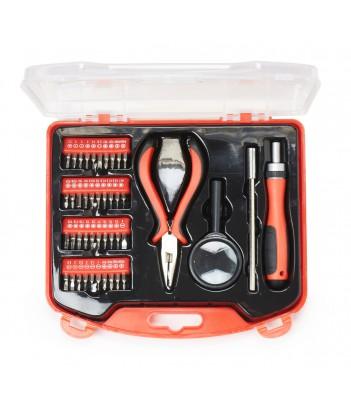 Zestaw narzędzi Gembird TK-BASIC-02 do majsterkowania (44 elementy)