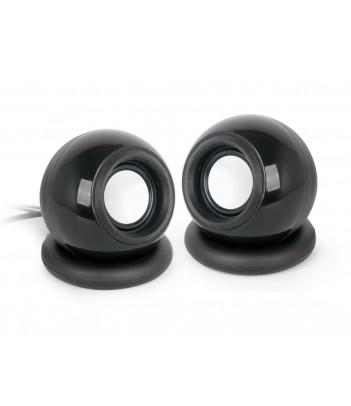 Głośniki przewodowe Gembird SPK-AC-BK (system 2.0) czarne