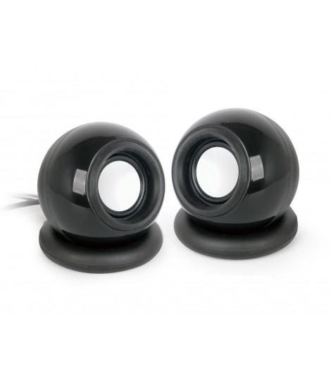 Głośniki przewodowe Gembird SPK-AC-BK (czarne)